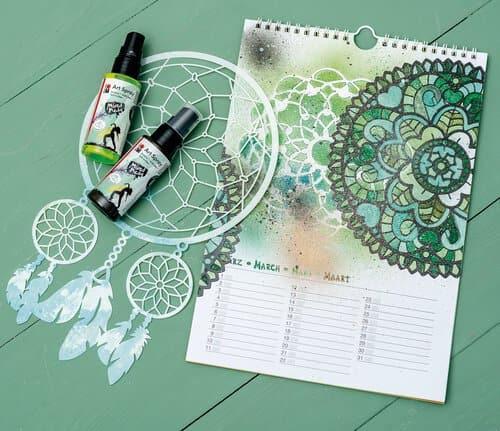 Bastelkalender Ideen.Kalender Einfach Selber Basteln